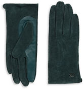 Calvin Klein Suede and Leather Gloves