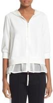 Moncler Women's Ruffle Hem Sweatshirt