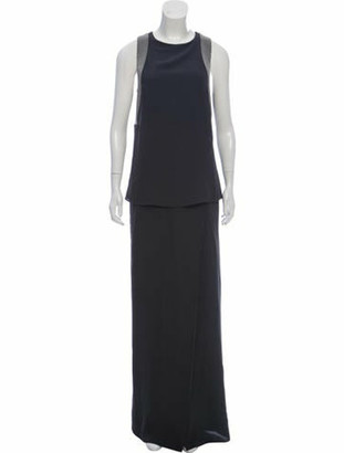 Brunello Cucinelli Silk Overlay Gown w/ Tags