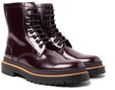 Burberry Glossed-Leather Boots