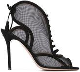 Aperlaï peep toe sandals