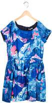 Junior Gaultier Girls' Denim Print A-Line Dress w/ Tags