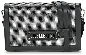 Love Moschino SPARKLING BAGS women's Shoulder Bag in Black
