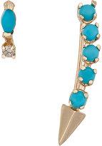 Loren Stewart Women's Diamond & Turquoise Earring Set