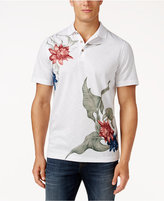 Tasso Elba Men's Print Performance Polo, Only at Macy's