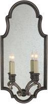 Visual Comfort & Co. Sussex Framed 2-Light Sconce, Nickel