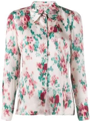 L'Autre Chose floral print long-sleeved shirt