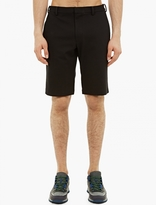 Jil Sander Black Jersey Chino Shorts