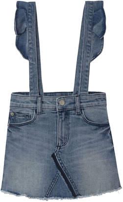 DL1961 Premium Denim Girl's Jenny Skirted Overalls, Size 2-6