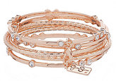 Jessica Simpson Crystal Bangle Bracelet Set