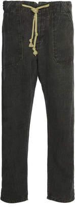 Nanushka Nova Linen-Twill Tapered Pants
