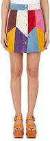 Marc Jacobs Women's Patchwork Suede Miniskirt