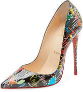 Christian Louboutin So Kate Loubitag Red Sole Pump