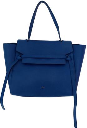 Celine Belt Blue Leather Handbags