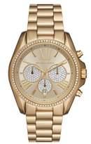 Michael Kors Women's Bradshaw Crystal Pave Chronograph Bracelet Watch, 43Mm