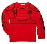 Stella McCartney Toddler's, Little Boy's & Boy's Padded Superhero Cotton Sweater