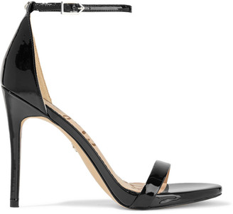 Sam Edelman Ariella Faux Patent-leather Sandals