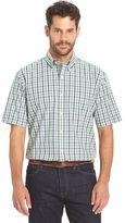 Arrow Men's Cambridge Classic-Fit Plaid Poplin Button-Down Shirt