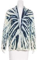 Raquel Allegra Tie-Dye Long Sleeve Jacket