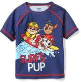 "Old Navy Paw Patrol ""Surf's Pup"" Rashguard for Toddler Boys"
