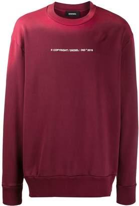 Diesel S-Bay-Sun faded-effect sweatshirt