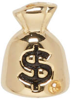 Marc Jacobs Gold Money Bag Earring