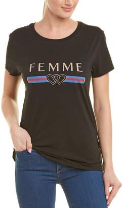 Chrldr Femme T-Shirt