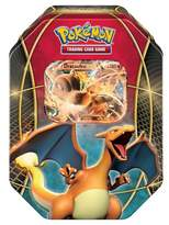 Pokemon 2016 Trading Cards Best of EX Tins featuring Charizard Board Game