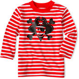 JCPenney Okie Dokie Long-Sleeve Striped Graphic Tee - Boys newborn-24m