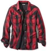 L.L. Bean PrimaLoft Performance Flannel Shirt, Lined Plaid