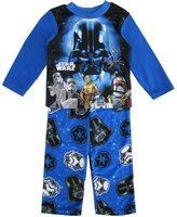 Star Wars Little Boys Black Darth Vader Long Two Piece Pajama Set
