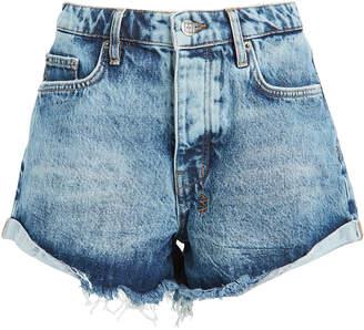 Ksubi Rollin Out Denim Shorts