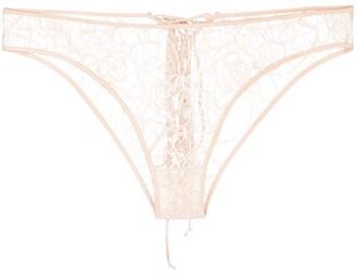Kiki de Montparnasse Coquette lace briefs
