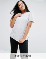 Asos T-Shirt in Linen Mix Fabric