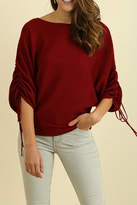 Umgee USA Crimson In Fall Top