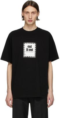 Noon Goons Black Cut It Out T-Shirt