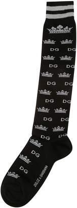 Dolce & Gabbana Logo Socks