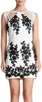 Dress the Population Cora Floral Sequined Minidress