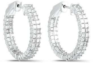 Odelia 18K 2.65 Ct. Tw. Diamond Hoops