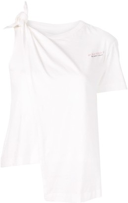 Ground Zero knotted T-shirt