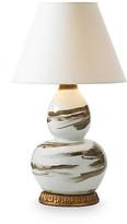 Bunny Williams Home Brushstroke Table Lamp - Brown/White