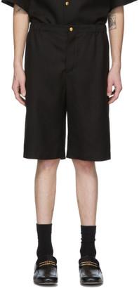 Gucci Black Orgasmique Linen Shorts