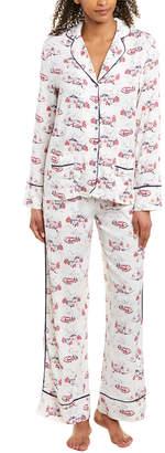 Jane & Bleecker 2Pc Pajama Pant Set