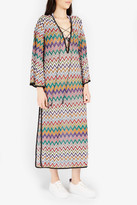 Missoni Zigzag Striped Maxi Dress