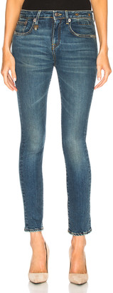 R 13 Alison Skinny in Kinsley Stretch | FWRD