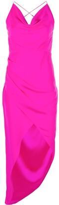 HANEY Holly asymmetric dress