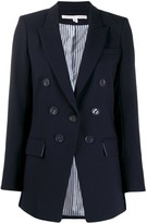Veronica Beard button embellished fitted blazer
