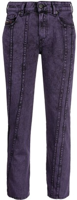 Diesel D-Joy slim cropped jeans