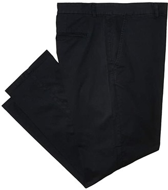 Johnny Bigg Big Tall Drew Cropped Trousers (Navy) Men's Casual Pants
