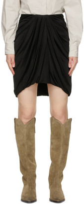 Isabel Marant Black Disparis Miniskirt